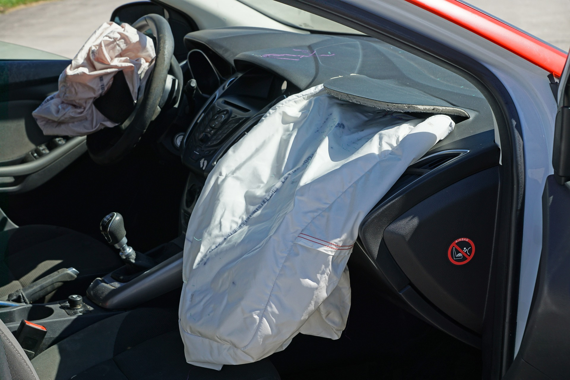 Airbags ausgelöst Steuergerät